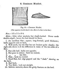The common musket as described by Skertchly